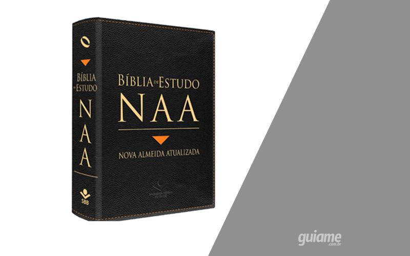 SBB apresenta a Bíblia de Estudo NAA