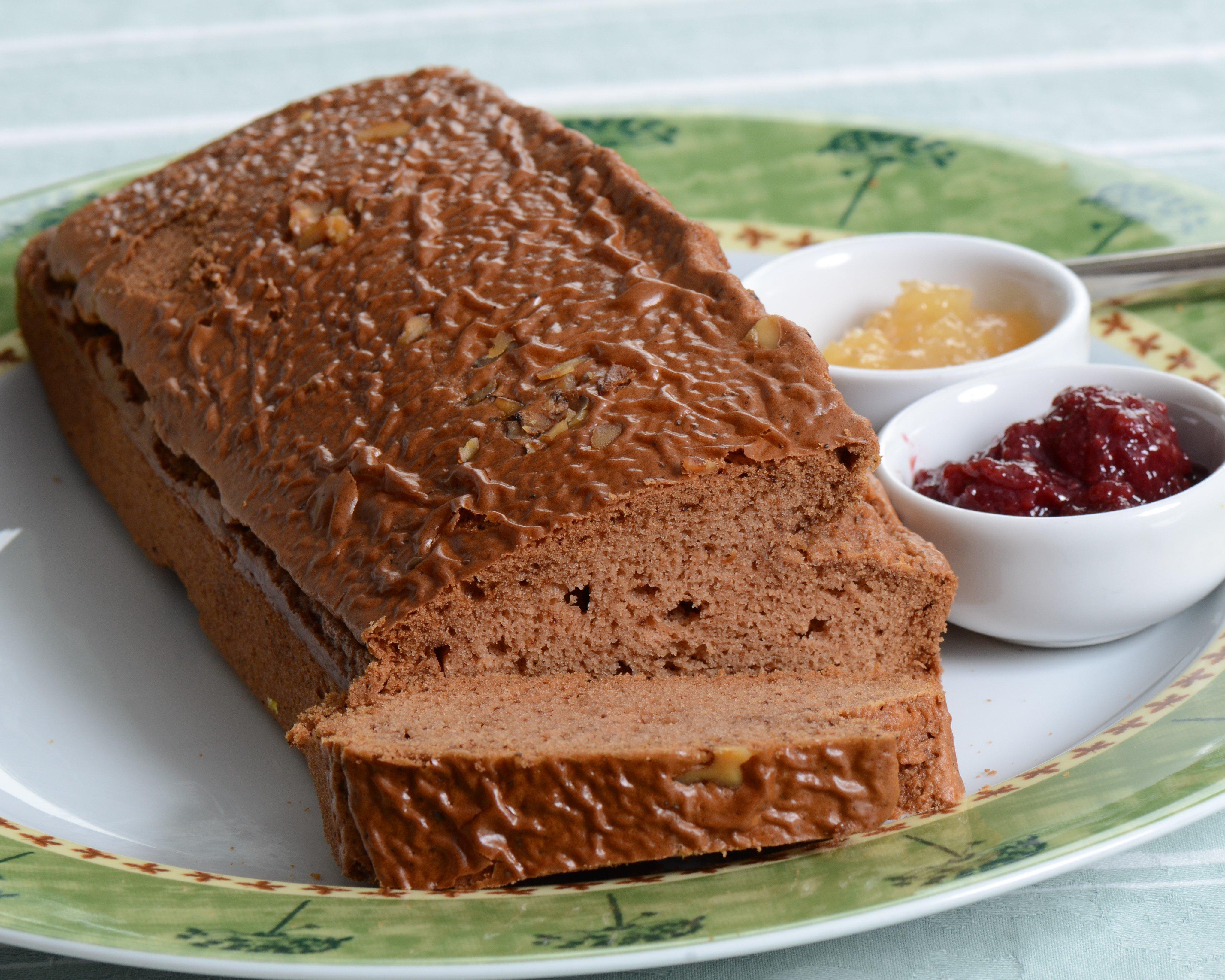 Pão sem glúten caseiro
