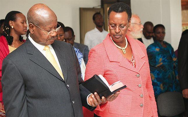 Primeira-dama de Uganda diz que