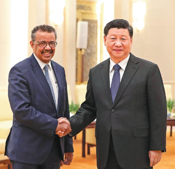 Diretor da OMS pode ter vínculo com Partido Comunista da China, segundo dissidentes