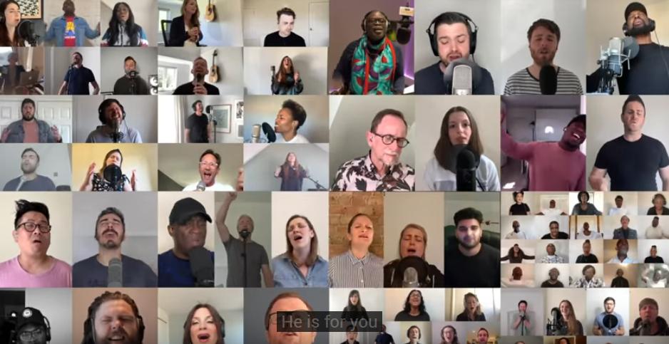 Músicos de 65 igrejas do Reino Unido se unem para louvor online; assista