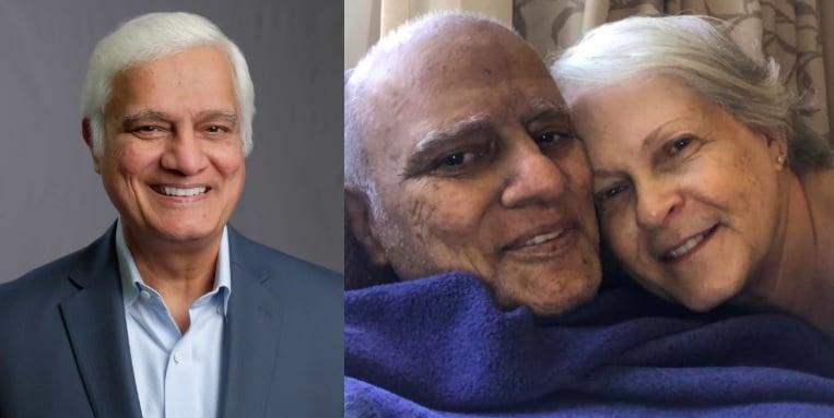 Com câncer avançado, evangelista Ravi Zacharias é liberado para ficar em casa com a família