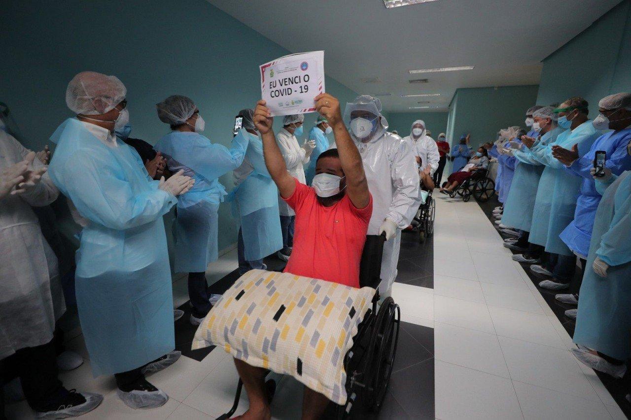 Brasil é 2º país com maior número de pessoas curadas da Covid-19