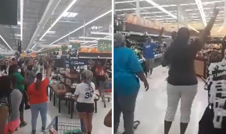 Vídeo mostra clientes adorando a Deus dentro de supermercado nos EUA