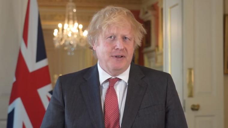 Primeiro-ministro da Inglaterra presta homenagem às igrejas por apoio em meio à pandemia