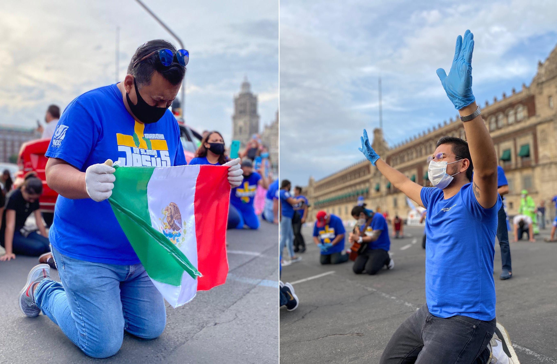 Cristãos vão às ruas do México para orar: