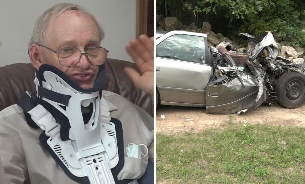 """Homem diz que sobreviveu a grave acidente pela graça de Deus: """"Não há explicação lógica"""""""
