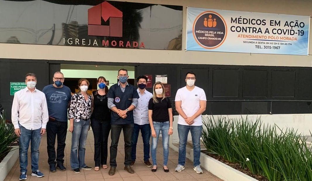 Igreja vira polo de combate à Covid-19 com ajuda de médicos voluntários