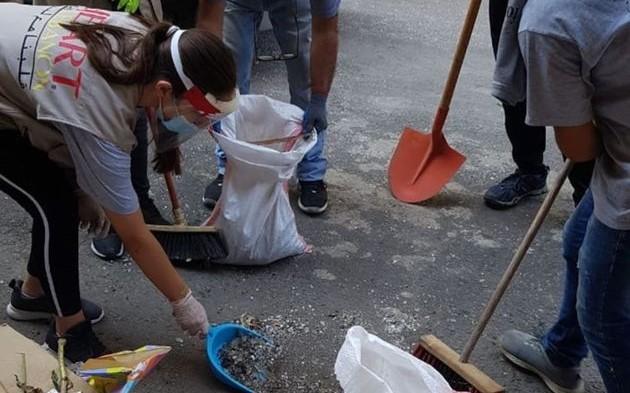Cristãos ajudam a reconstruir casas e igrejas atingidas pelas explosões em Beirute