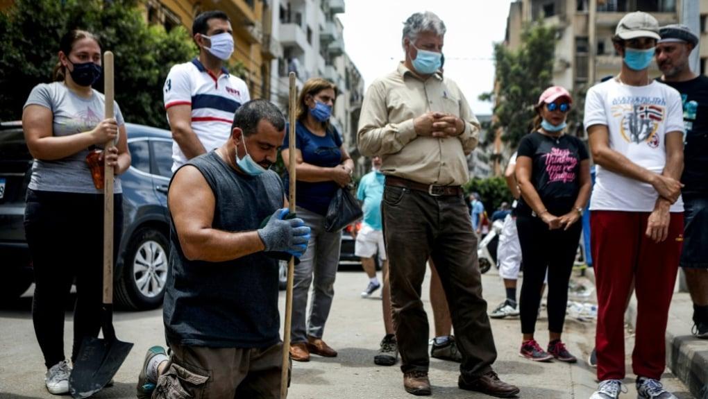 """""""Quase todas as Igrejas estão ajudando a reconstruir Beirute"""", diz chefe de ONG cristã"""