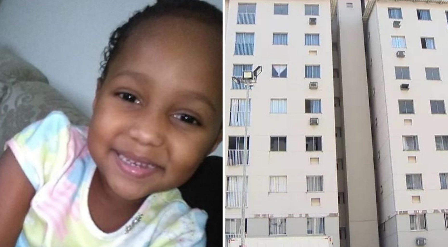 Menina de 5 anos cai de 6º andar e sobrevive após oração de vizinhos