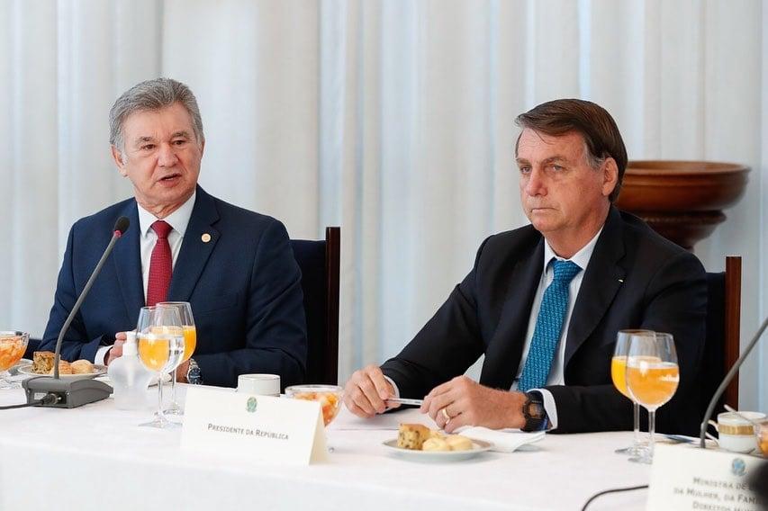 Em café com pastores, Bolsonaro reforça promessa de nomear ministro evangélico ao STF