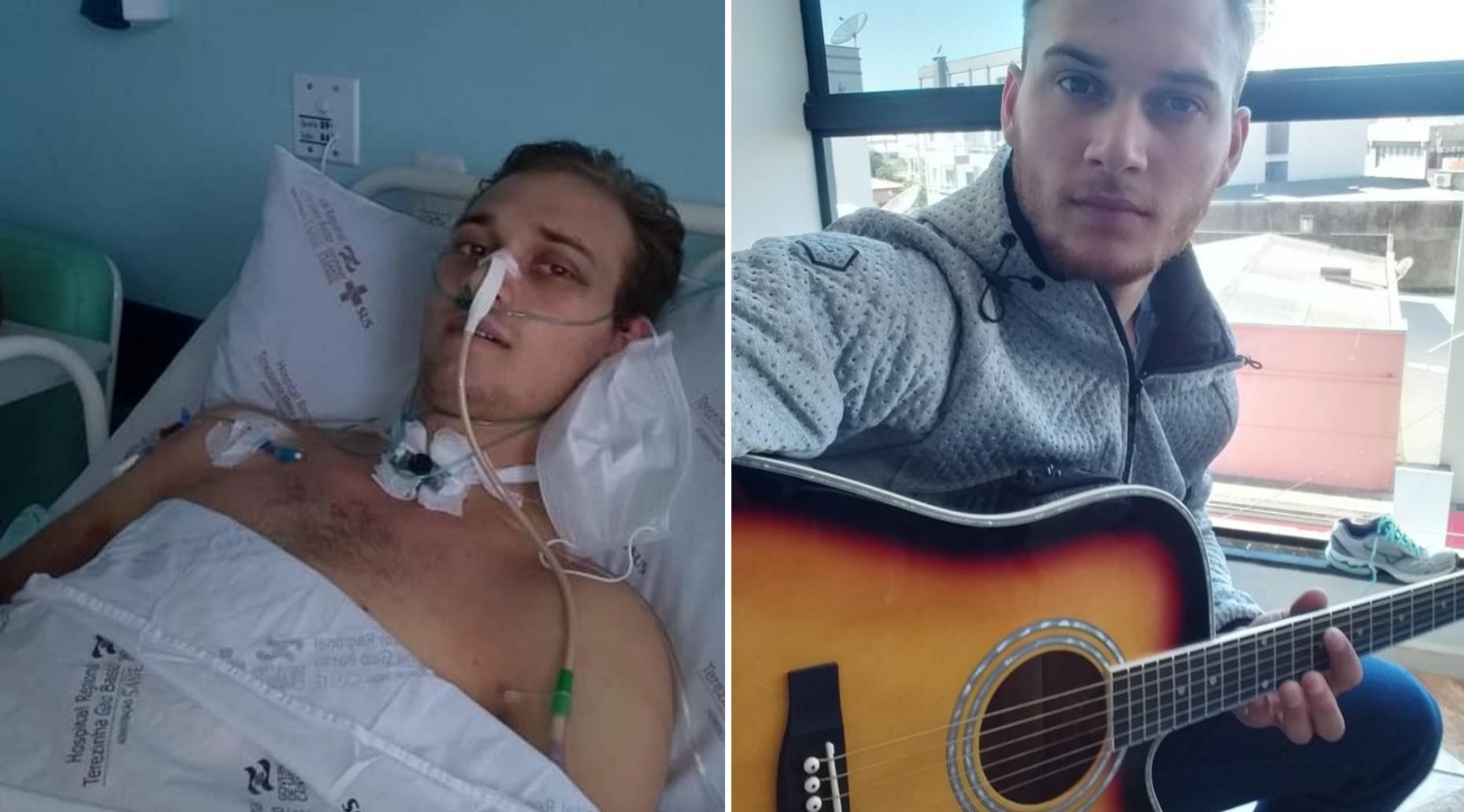 """""""Deus me trouxe de volta à vida"""", diz jovem que teve parada cardíaca após acidente"""