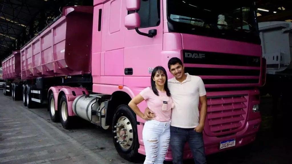 'O tumor virou um cisto', diz caminhoneira curada de câncer de mama após oração