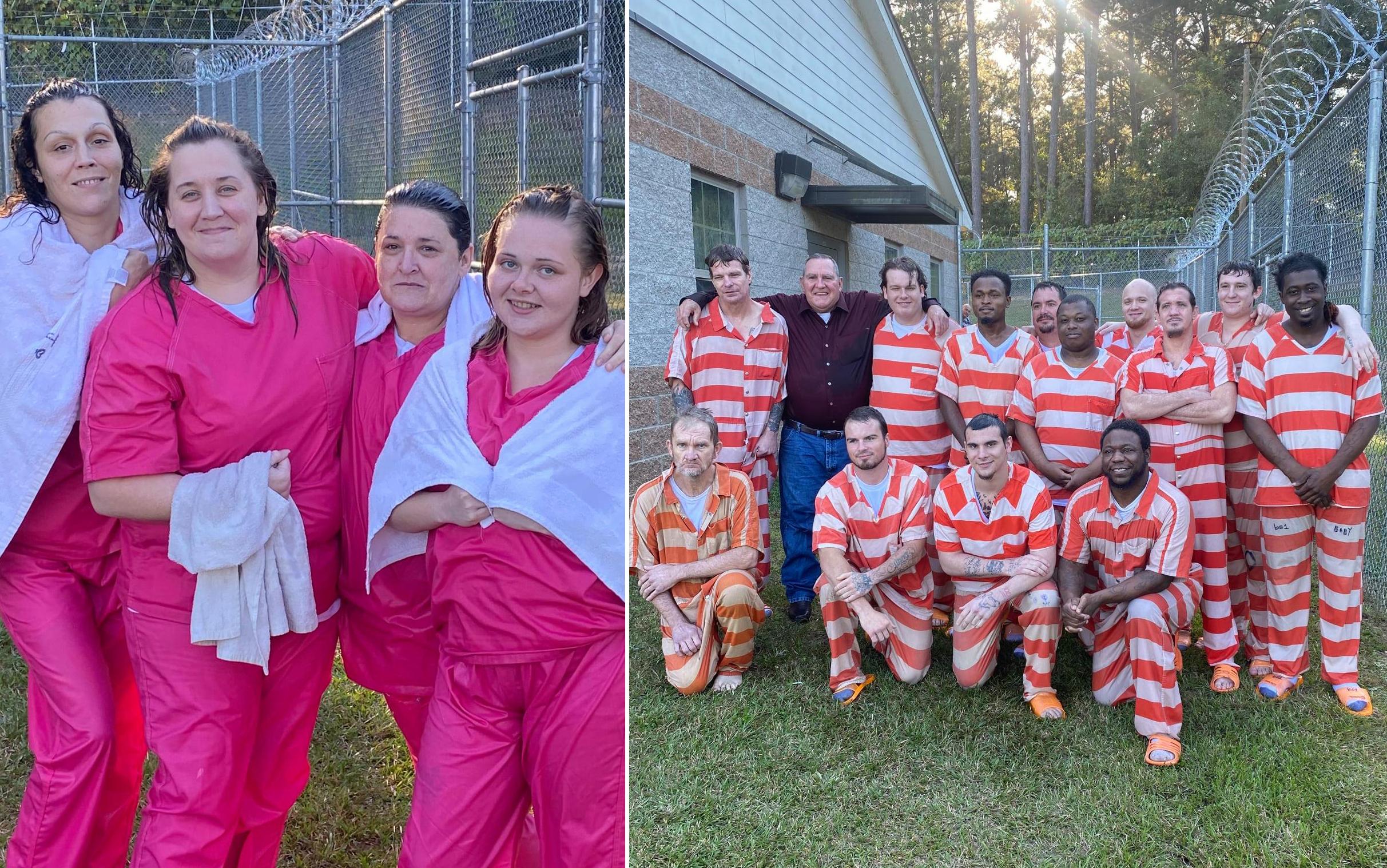 """Policiais celebram batismos de 17 presos nos EUA: """"É um novo começo"""""""
