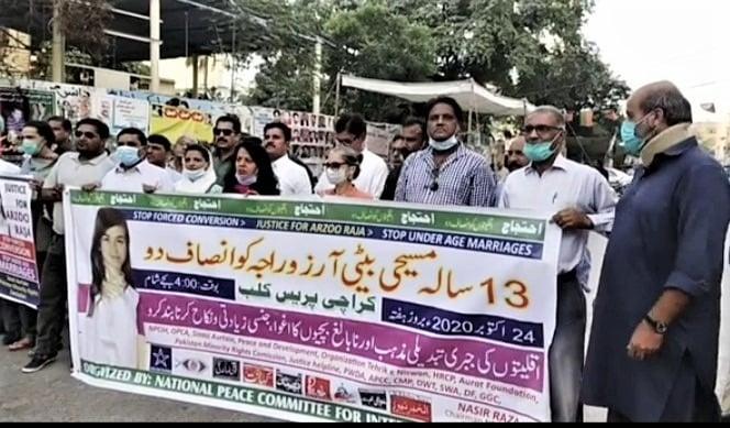 Juiz reconhece casamento de muçulmano de 45 anos com garota cristã de 13, no Paquistão