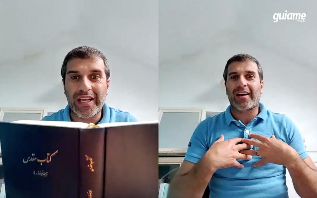 """Iraniano se tornou cristão após ter visão de Jesus: """"A presença de Deus veio como fogo"""""""