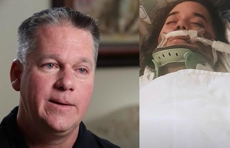 'Vi Jesus soprar dentro dela', diz pai após orar por filha sem vida depois de acidente