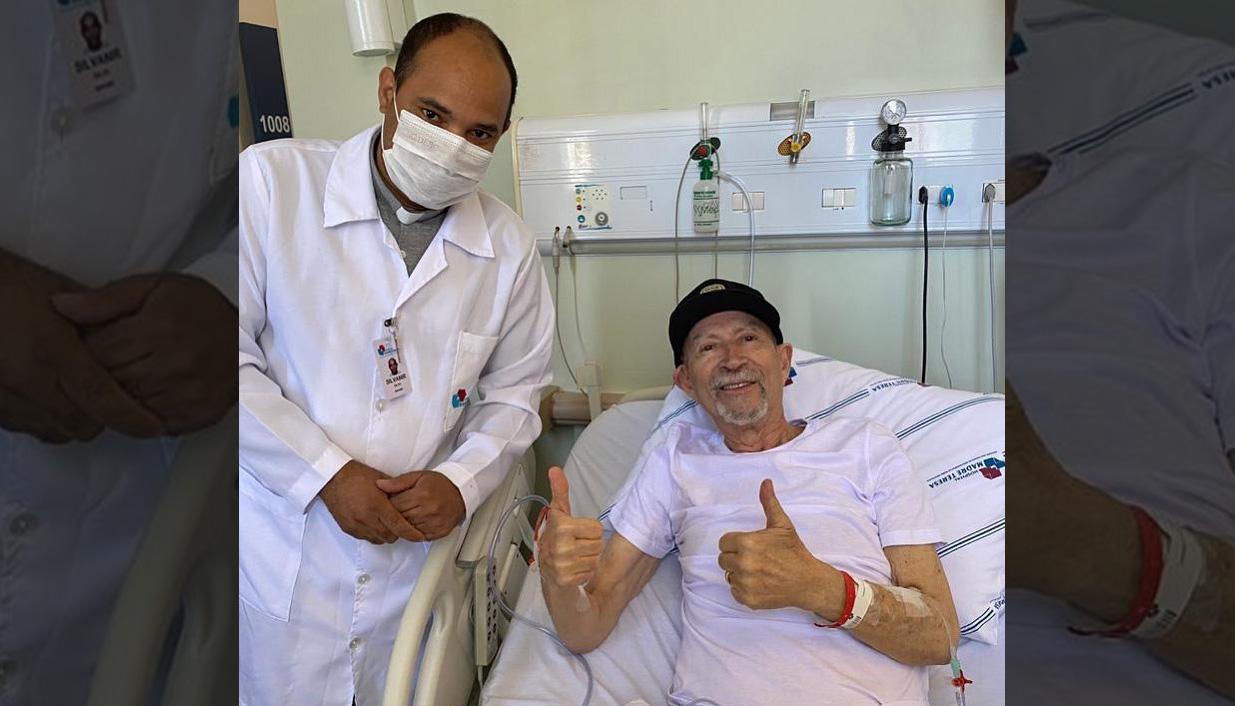 Pastor Jorge Linhares é curado da Covid-19 e recebe alta após 18 dias internado