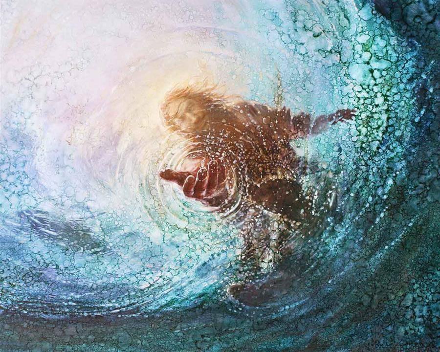 """""""Olhar para tempestade nos faz afundar, olhar para Jesus nos faz caminhar"""", diz pastor"""