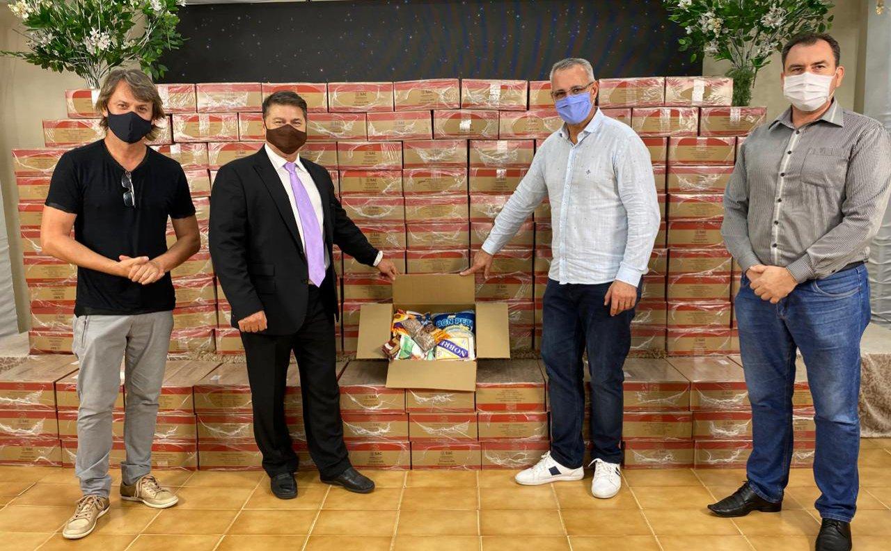 """Igreja doa 150 cestas básicas à prefeitura de Santa Maria: """"Atuamos em meio à crise"""""""