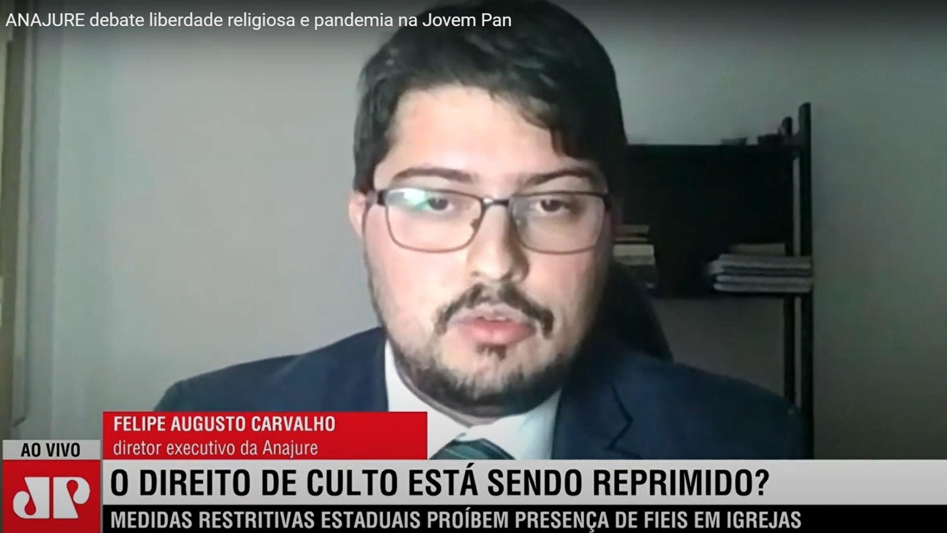 """Jurista evangélico defende igrejas abertas: """"A fé é necessária no combate à pandemia"""""""