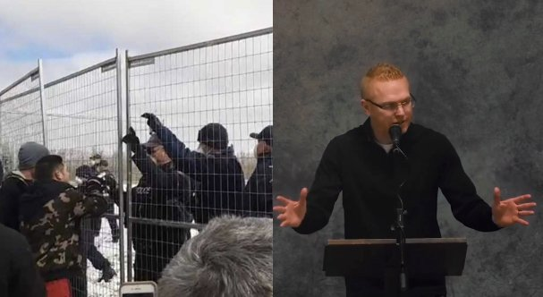Igreja canadense que foi cercada por policiais passa a transmitir cultos em local secreto