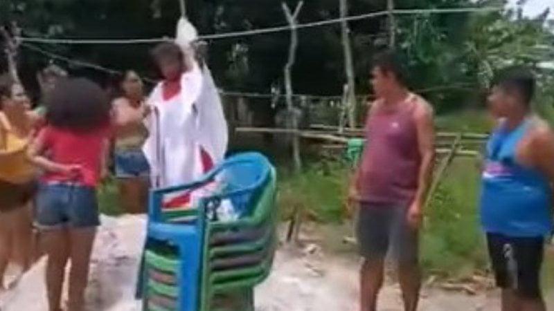 Três crianças usadas em ritual religioso são resgatadas pela Polícia no Pará