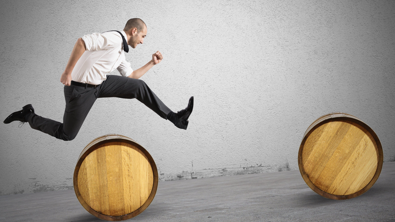 A vida é uma corrida de obstáculos