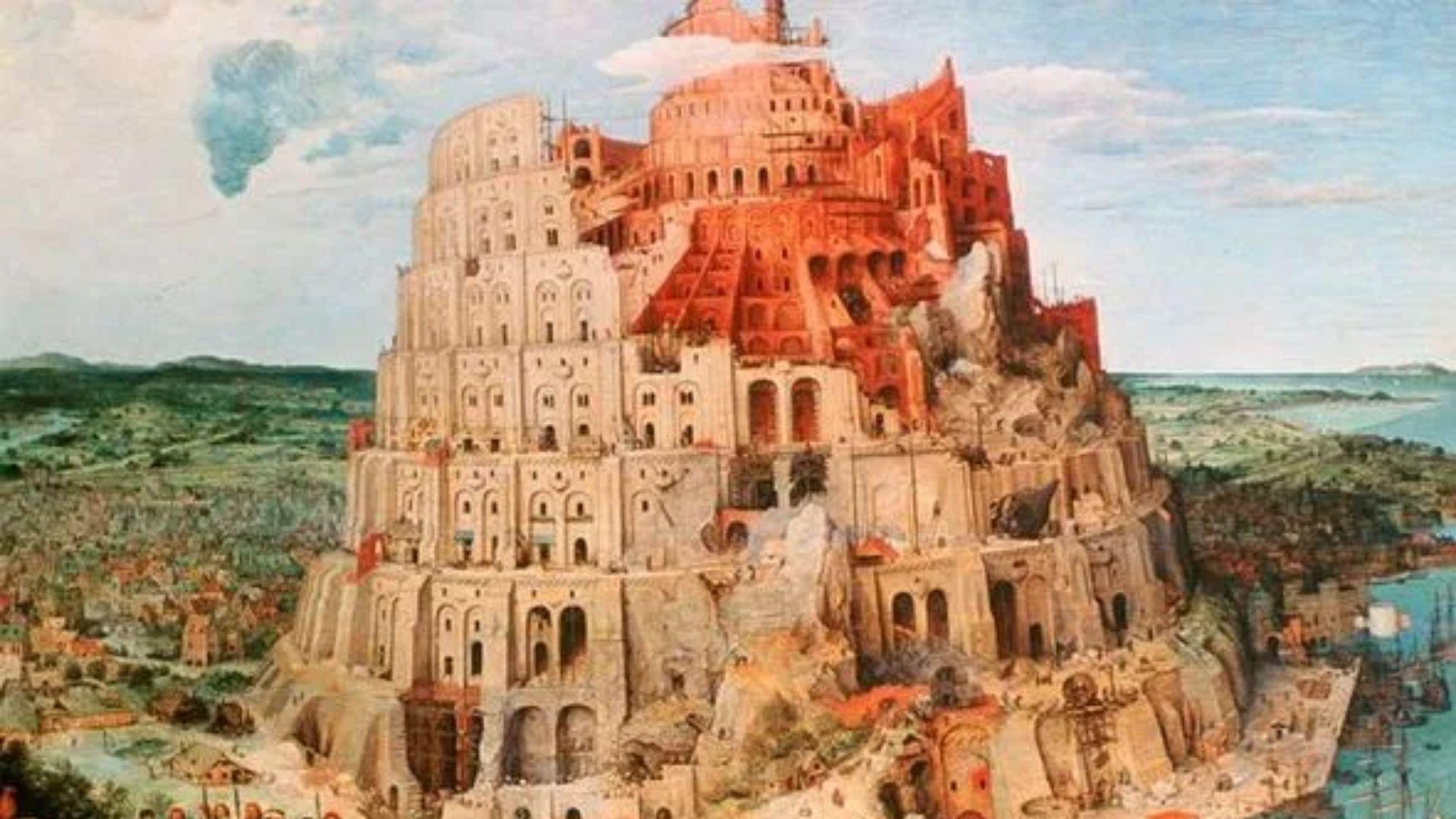 """Especialista bíblico revela evidências da realidade da Torre de Babel: """"Não é mito"""""""