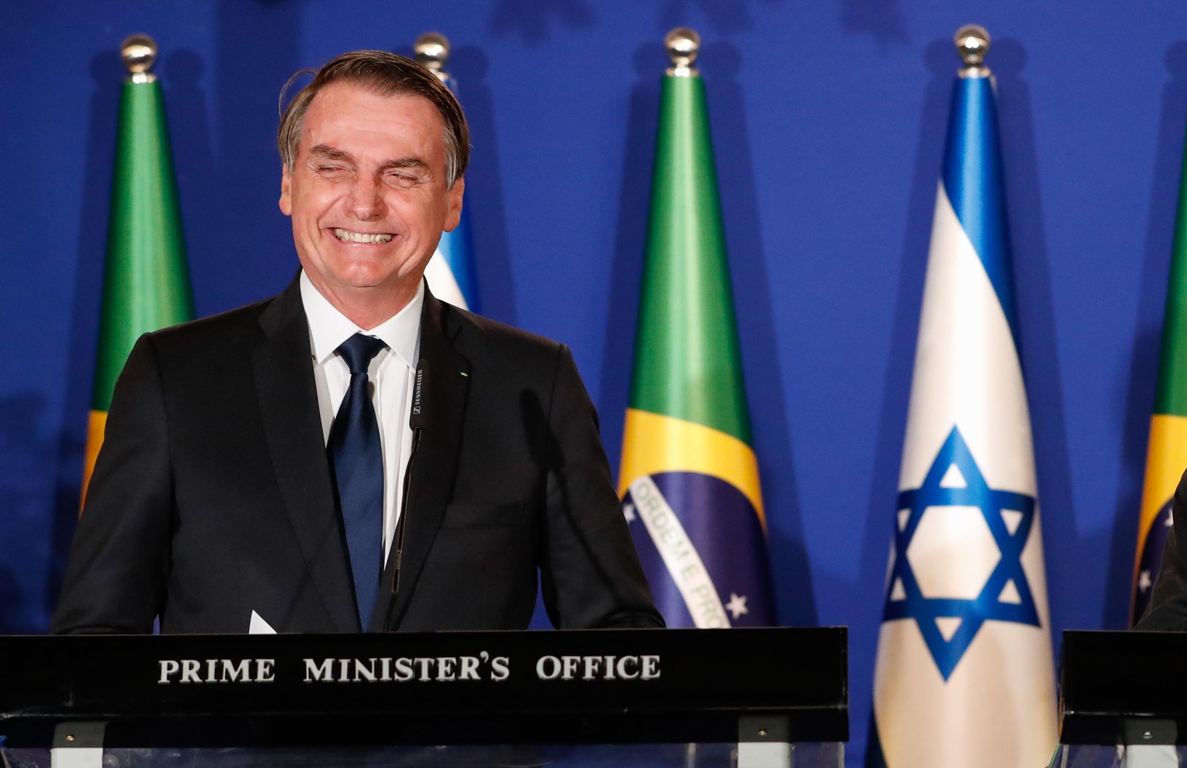 """Bolsonaro parabeniza novo premiê israelense e garante que """"o Brasil não faltará a Israel"""""""