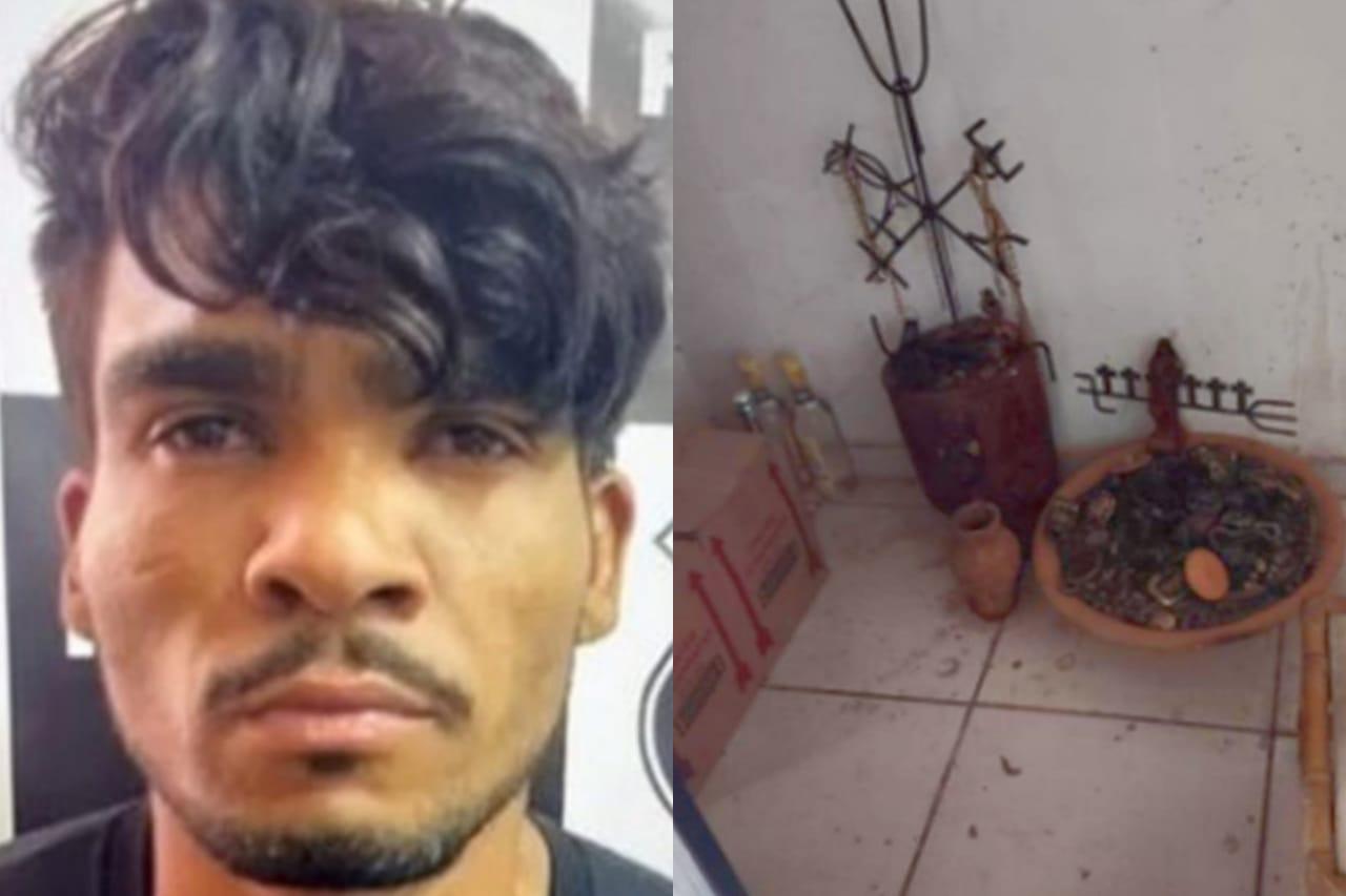 Psicopata de chacina no DF sacrificou vítima em ritual satânico