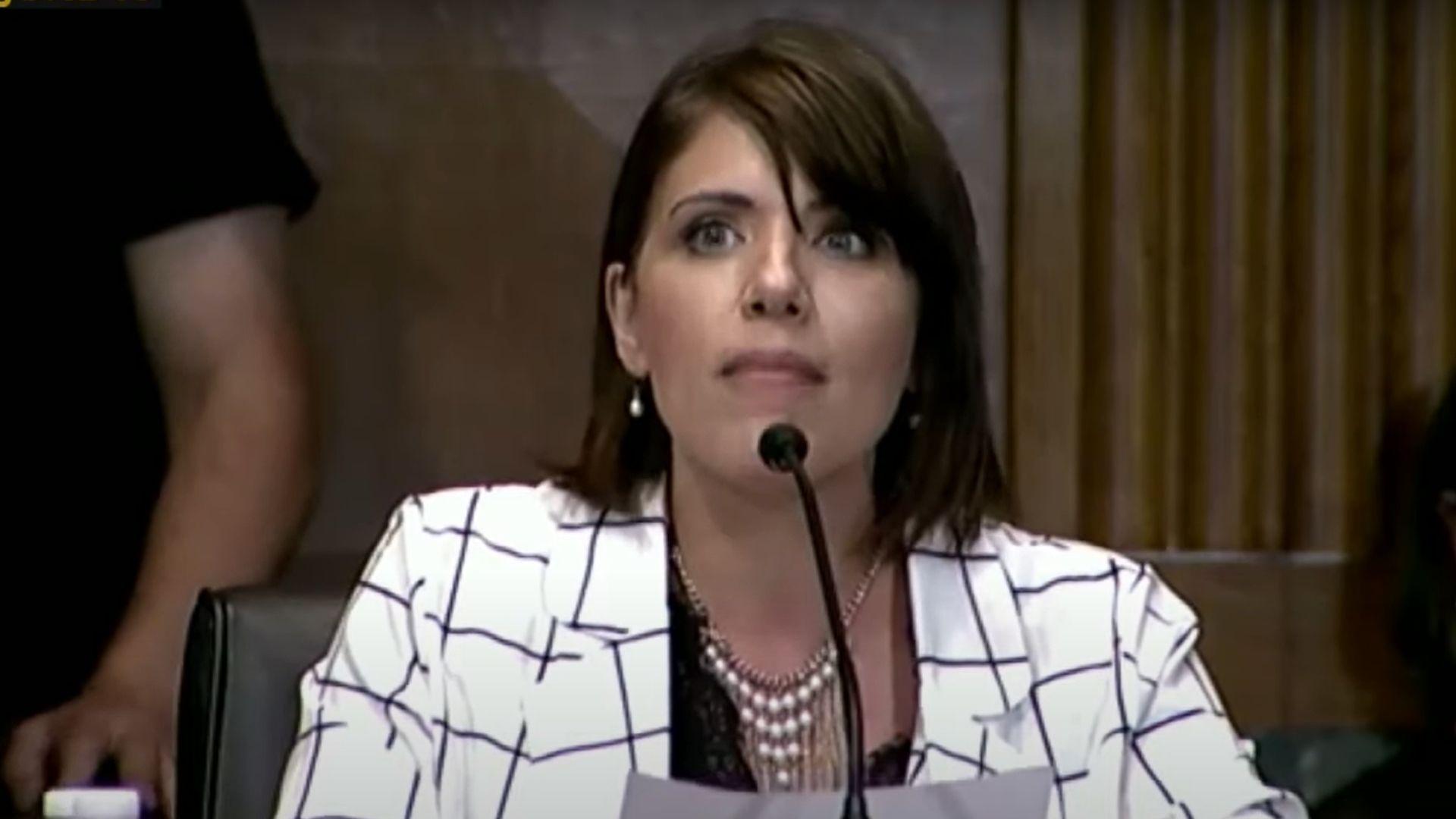 """Sobrevivente de aborto testemunha no Congresso dos EUA: """"Quando começam meus direitos?"""""""