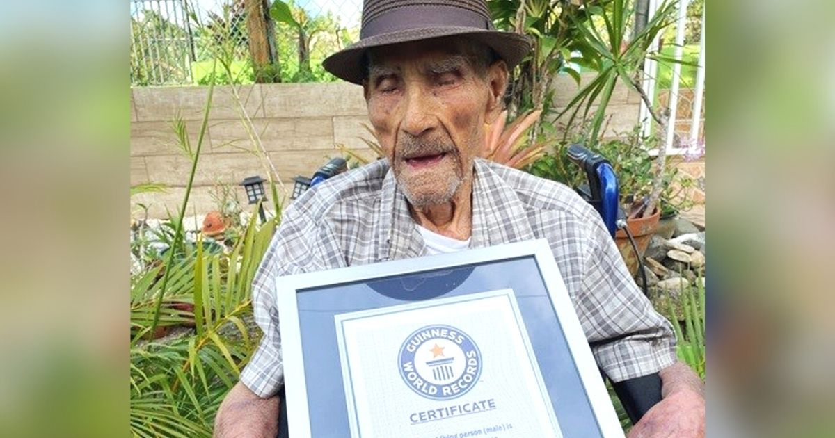 """Homem mais velho do mundo revela o segredo de sua longevidade: """"Cristo vive em mim"""""""