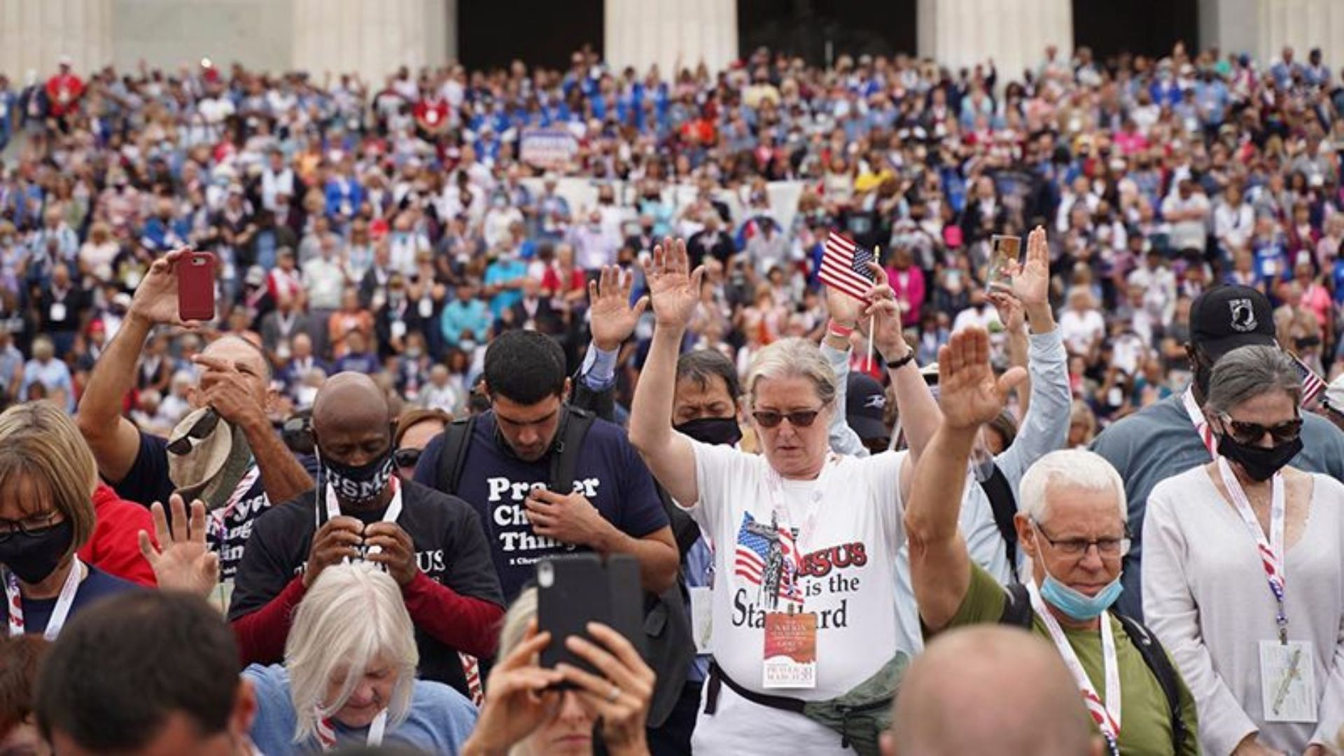 Milhares de cristãos vão às ruas no centro dos EUA para clamar por avivamento