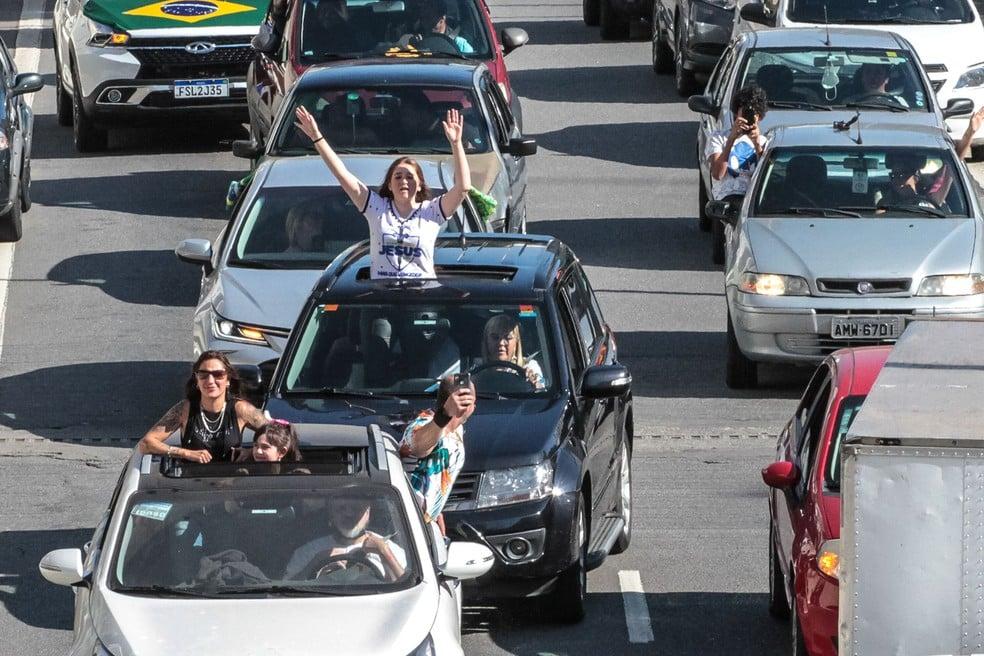 Marcha Para Jesus em São Paulo é feita em carreata pelo segundo ano