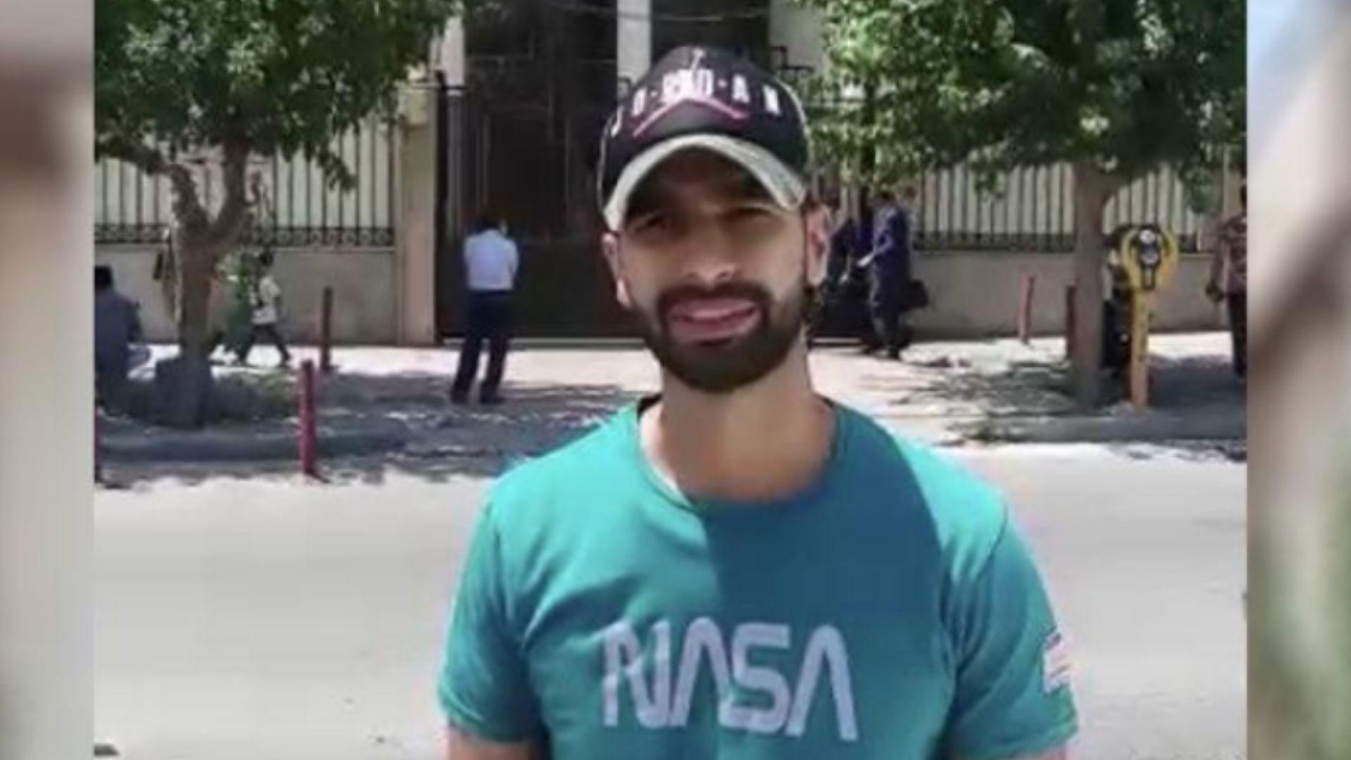"""""""Agradeço a Deus por me considerar digno"""", diz iraniano espancado por escolher Jesus"""