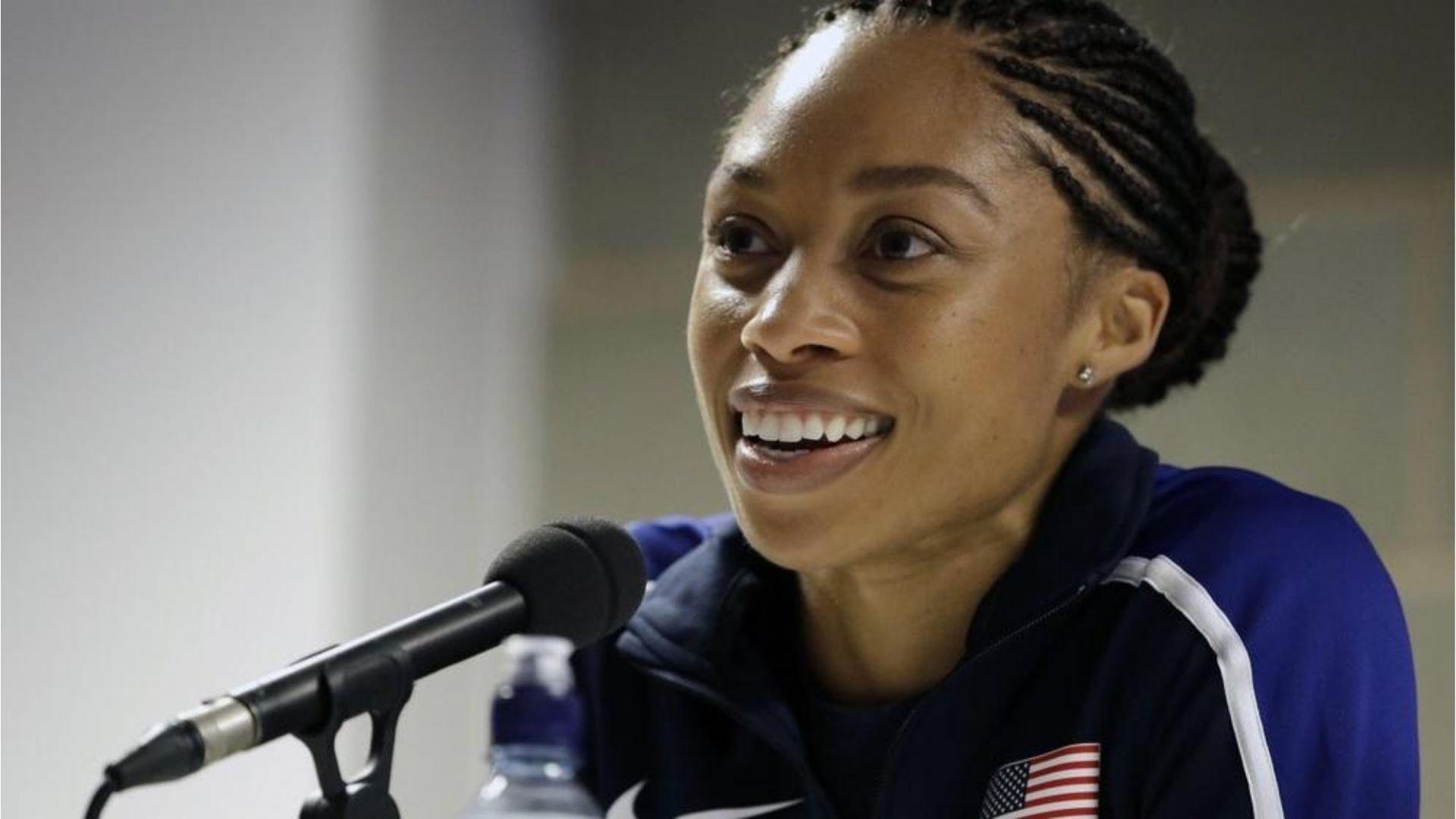 """""""Pela graça de Deus estou aqui"""", reconhece atleta mais premiada da história do atletismo"""