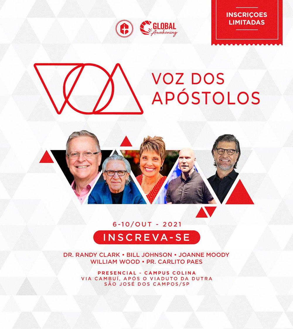 Conferência Voz dos Apóstolos - Inscreva-se!