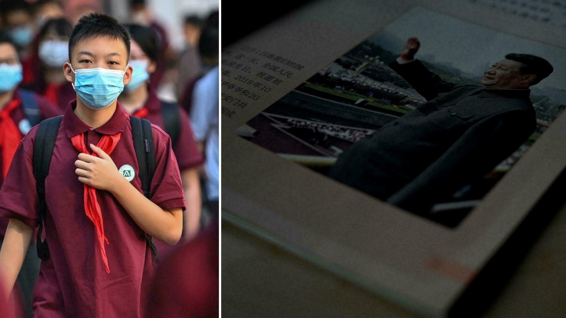 Culto a Xi Jinping: Crianças usarão material didático sobre ideias do presidente chinês