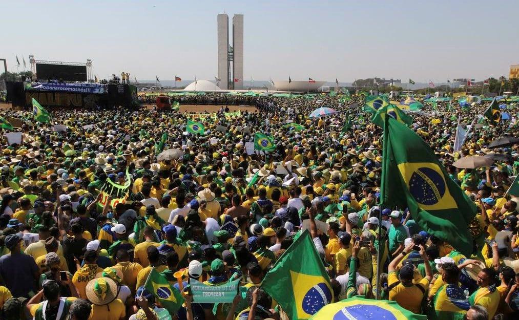 """Pastores fazem orações e apelo em manifestações de 7 de setembro: """"Pela liberdade"""""""