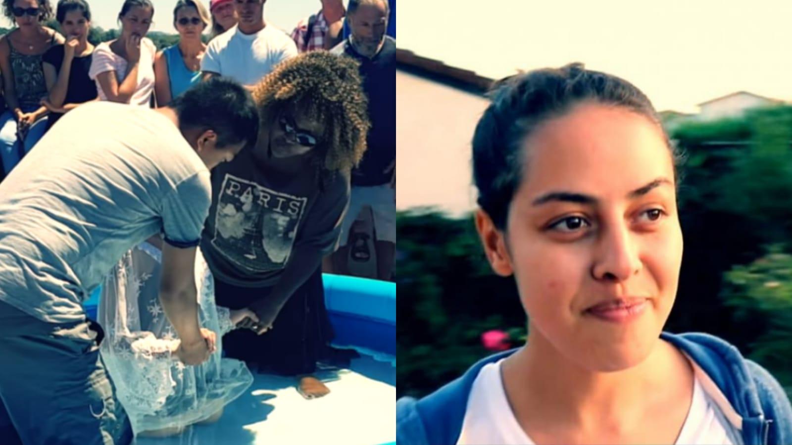 Jovem suicida que entraria no Estado Islâmico conhece Jesus e é batizada