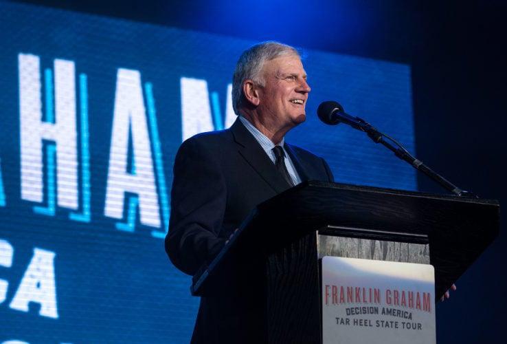 Evento evangelístico com Franklin Graham no Brasil é adiado para 2022