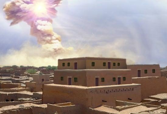Cientistas encontram evidências de explosão em cidade antiga, ligando à história de Sodoma