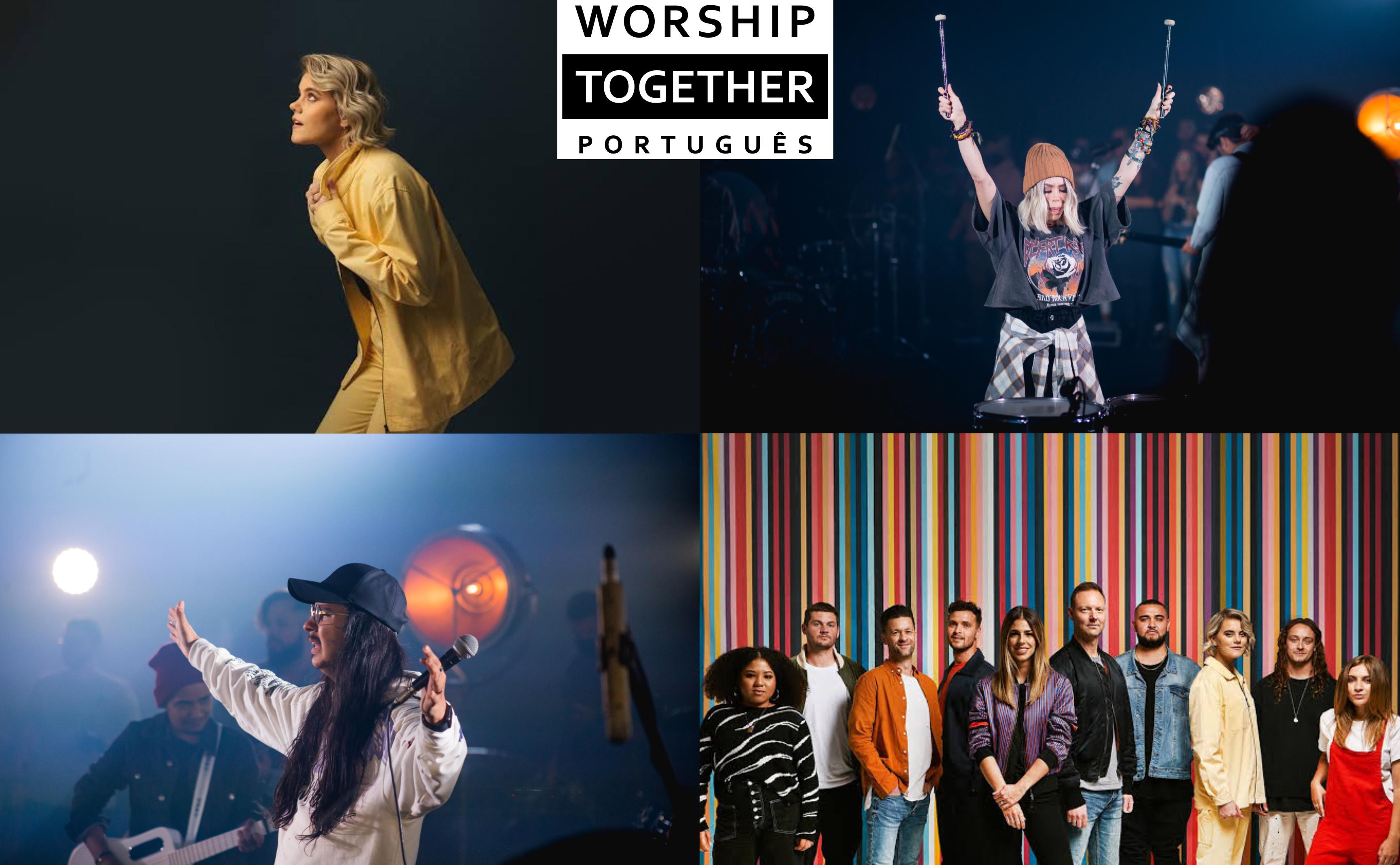 """EP """"Deus Tanto Amou"""" marca lançamento do app Worship Together no Brasil"""