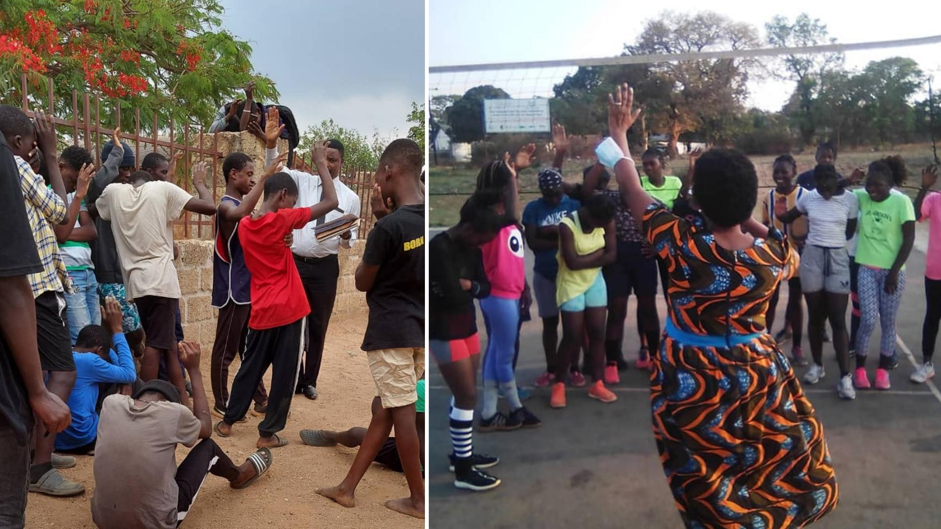 Igrejas se unem para evangelismo e mais de 1.800 pessoas se entregam a Jesus, em Zâmbia