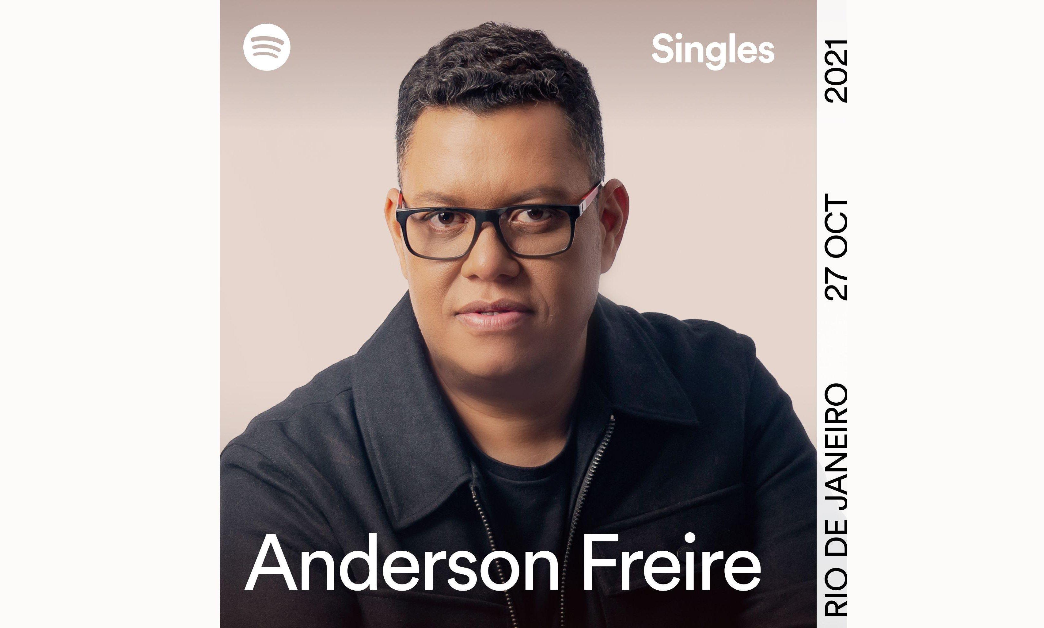 Anderson Freire é o primeiro cantor gospel a gravar Spotify Singles no Brasil